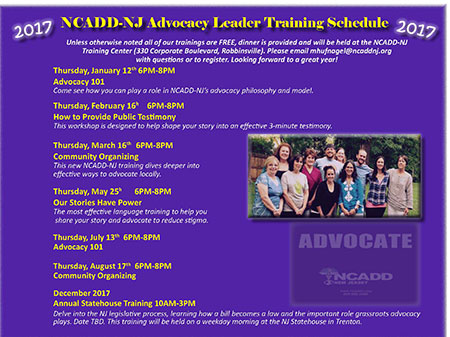 Register for the 2017 Trainings today.